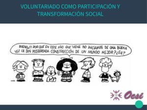 thumbnail of Voluntariado y participación social OCSI