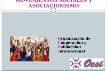 thumbnail of Movimientos sociales y asociacionismo OCSI