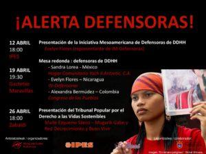 thumbnail of Cartel_Alerta Defensoras